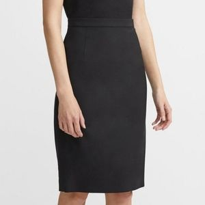 NWT Theory Good Wool Classic Skirt